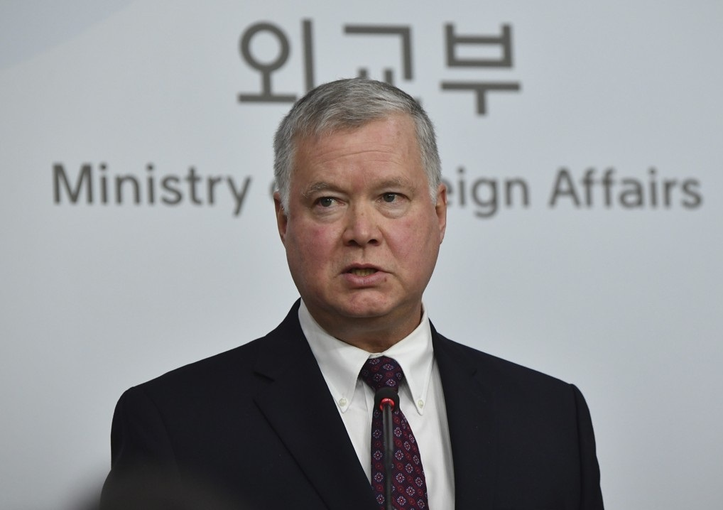 US Deputy Secretary of State Stephen Biegun (Yonhap)