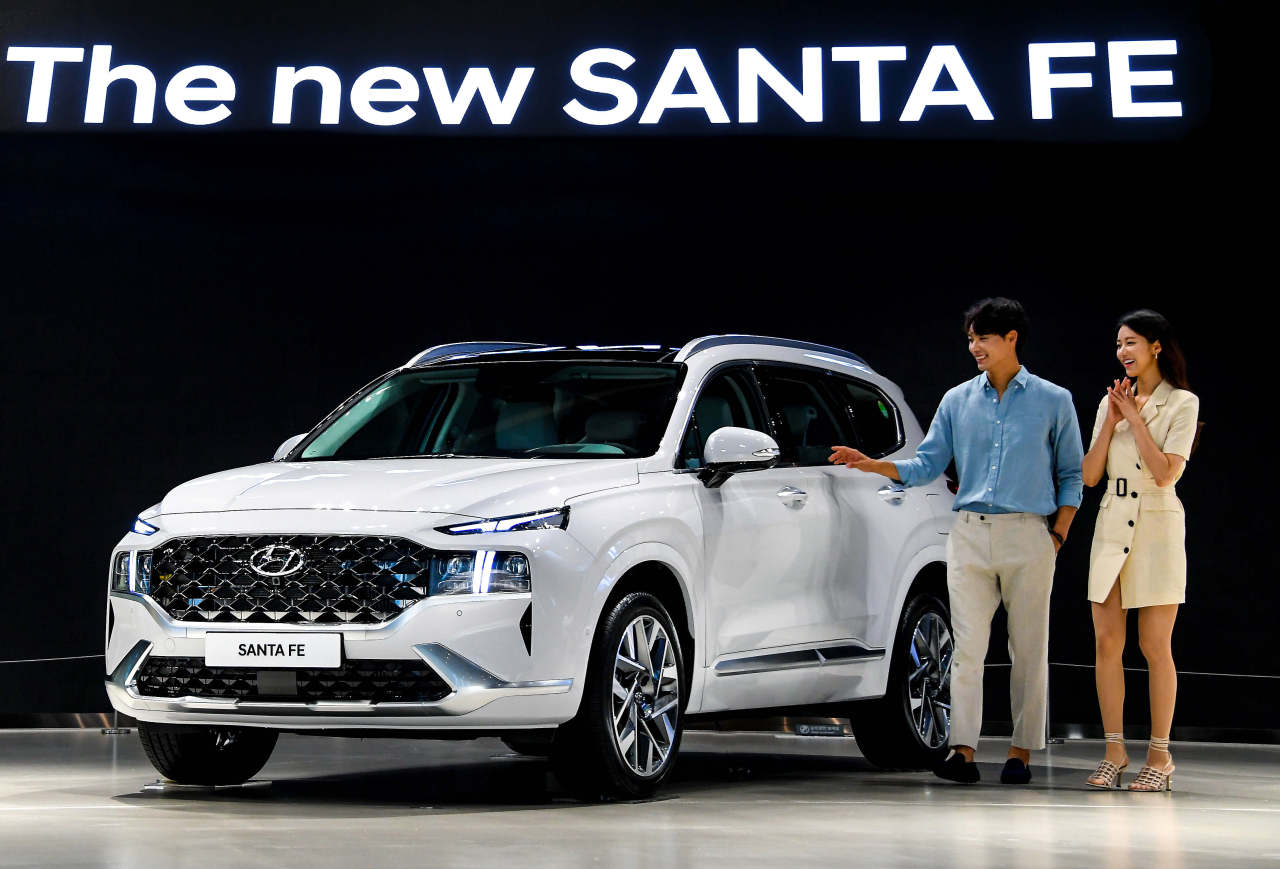 The new Santa Fe (Hyundai Motor Group)