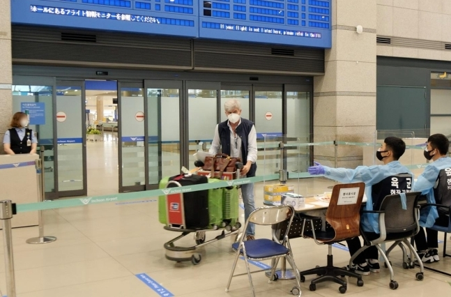 Massimo Zanetti at the Incheon International Airport (Gyeonggi Arts Center)