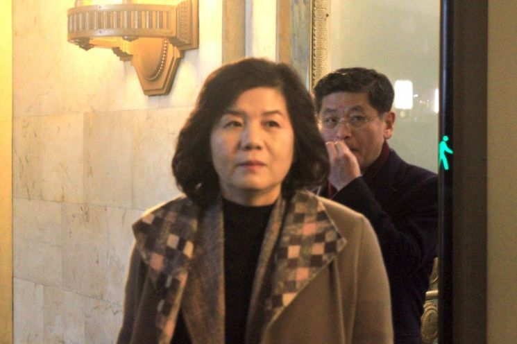 North Korea`s First Vice Foreign Minister Choe Sun-hui (Yonhap)