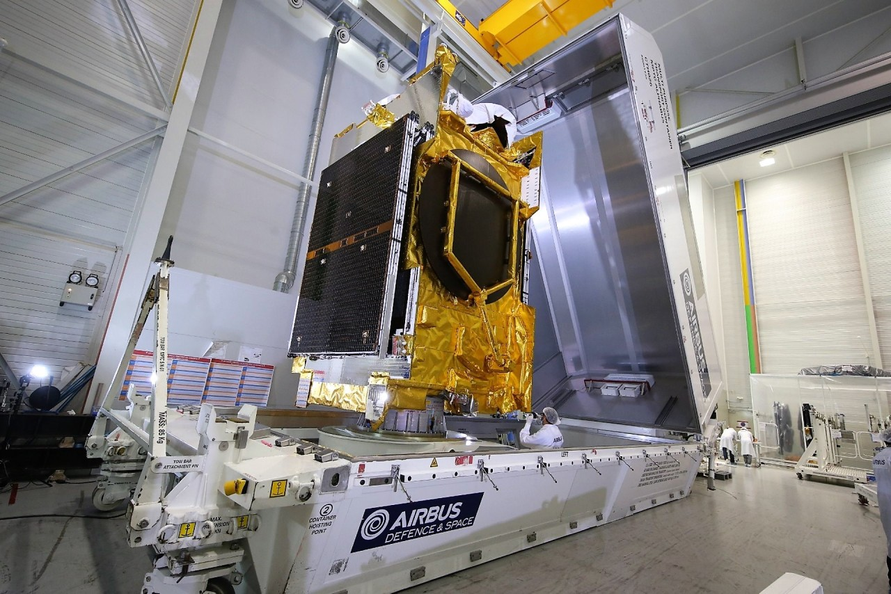 Anasis-II satellite (Airbus Defense and Space-Yonhap)