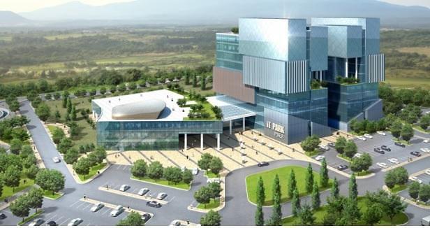A image-rendering depicting IT Park in Pakistan (Export-Import Bank of Korea)