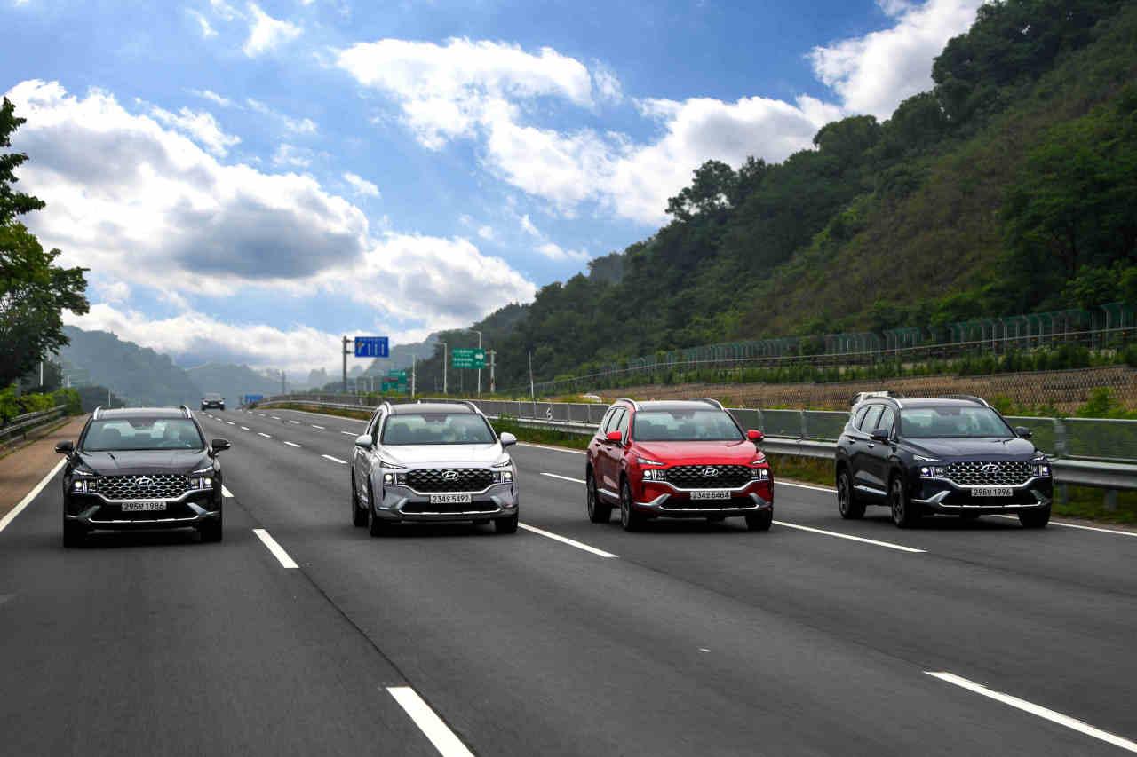 Hyundai Motor's new Santa Fe (Hyundai Motor)