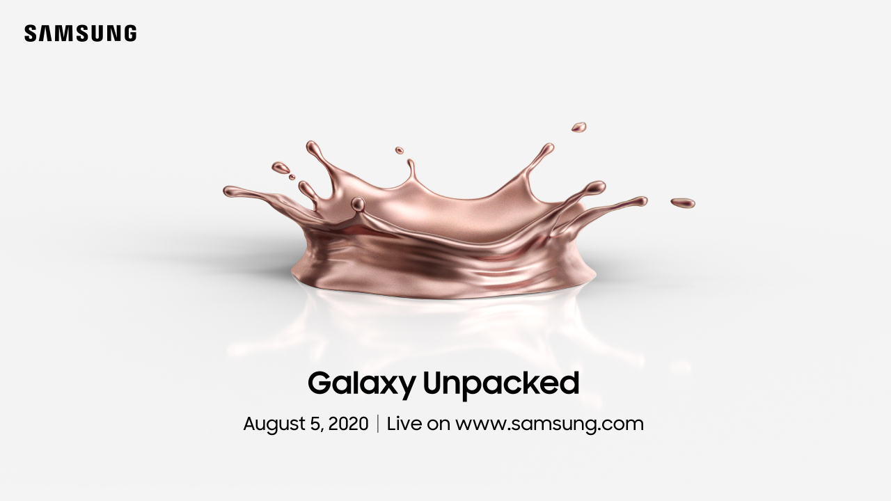 Samsung Galaxy Unpacked 2020 live stream confirmed for August 5th