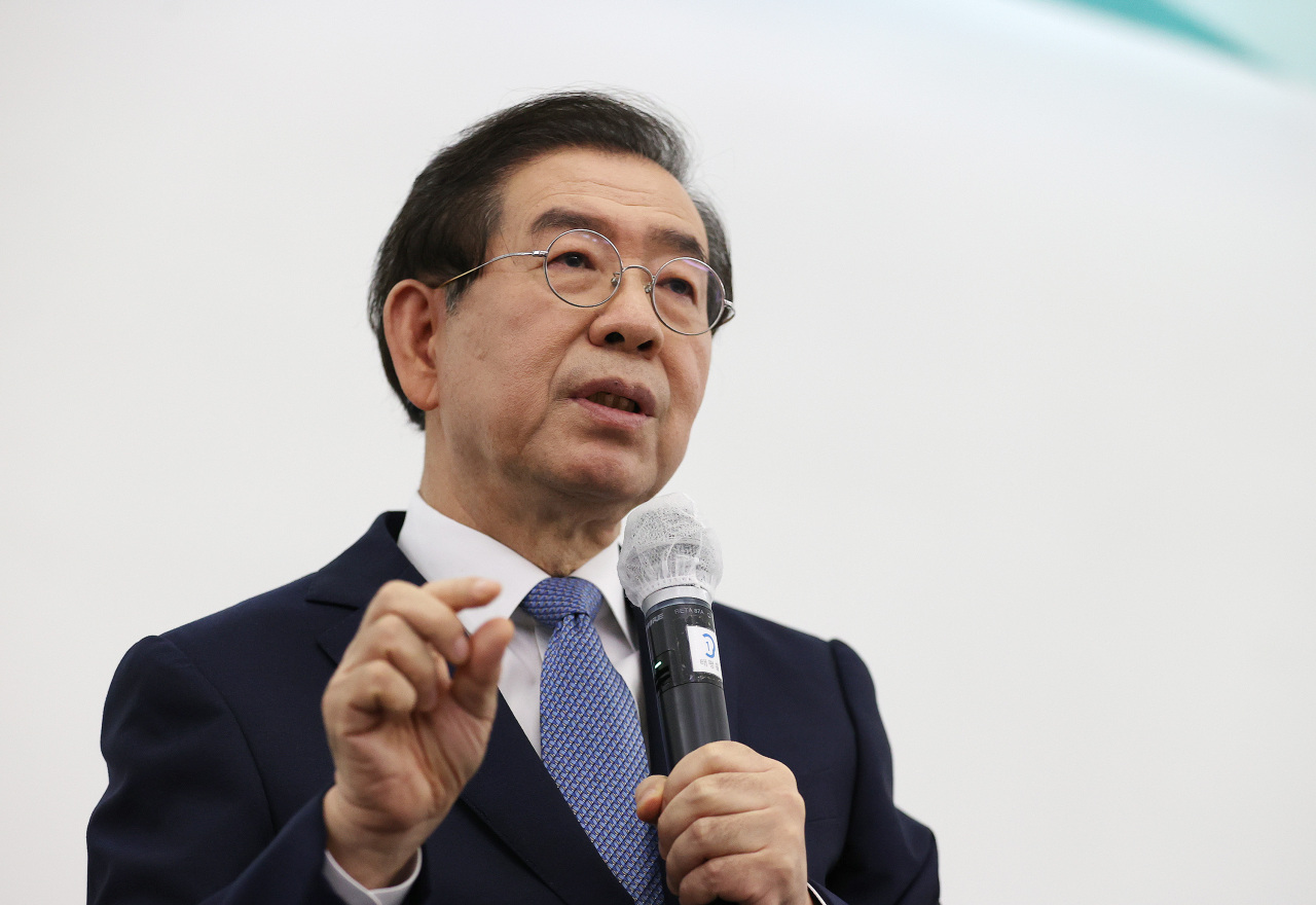 Seoul Mayor Park Won-soon (Yonhap)