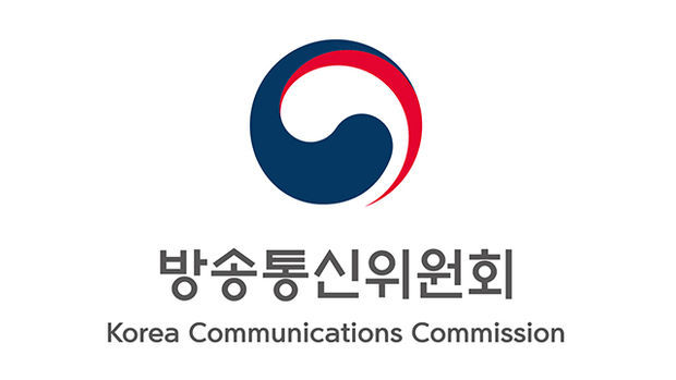 A logo of Korea Communications Commission