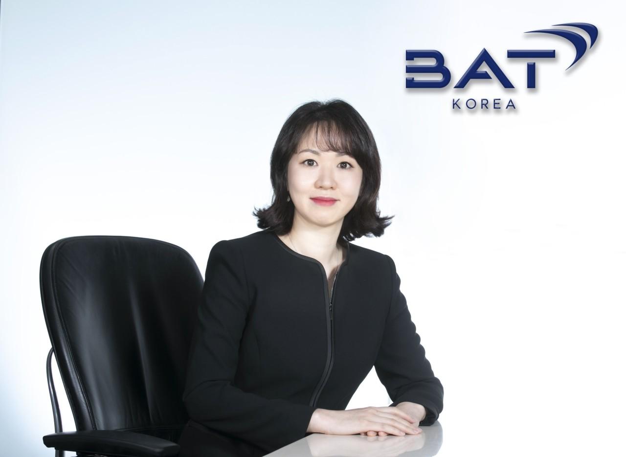 BAT Korea's Country Manager Kim Eun-ji (BAT Korea)