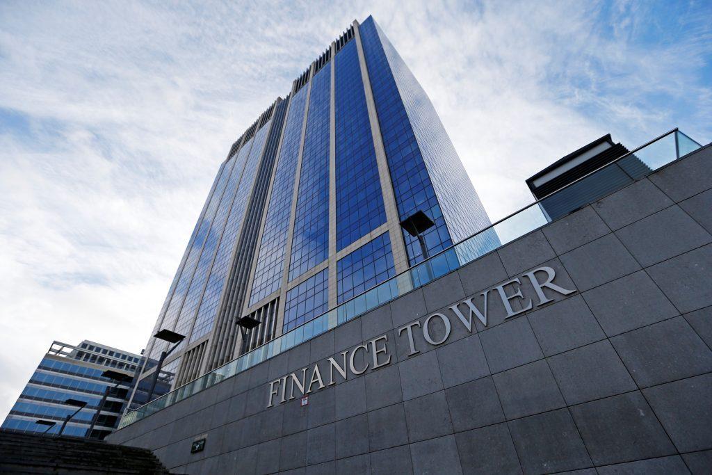 An exterior view of Finance Tower Complex in Belgium. (JR Asset Management)