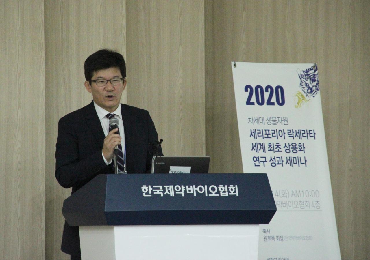 FugenBio CEO Kim Yoon-soo (Lim Jeong-yeo/The Korea Herald)