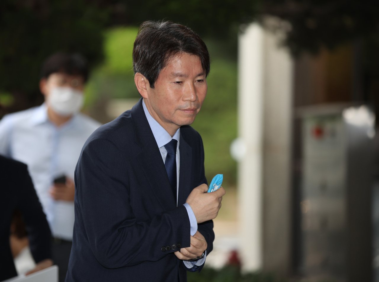 Lee In-young, the unification minister nominee (Yonhap)