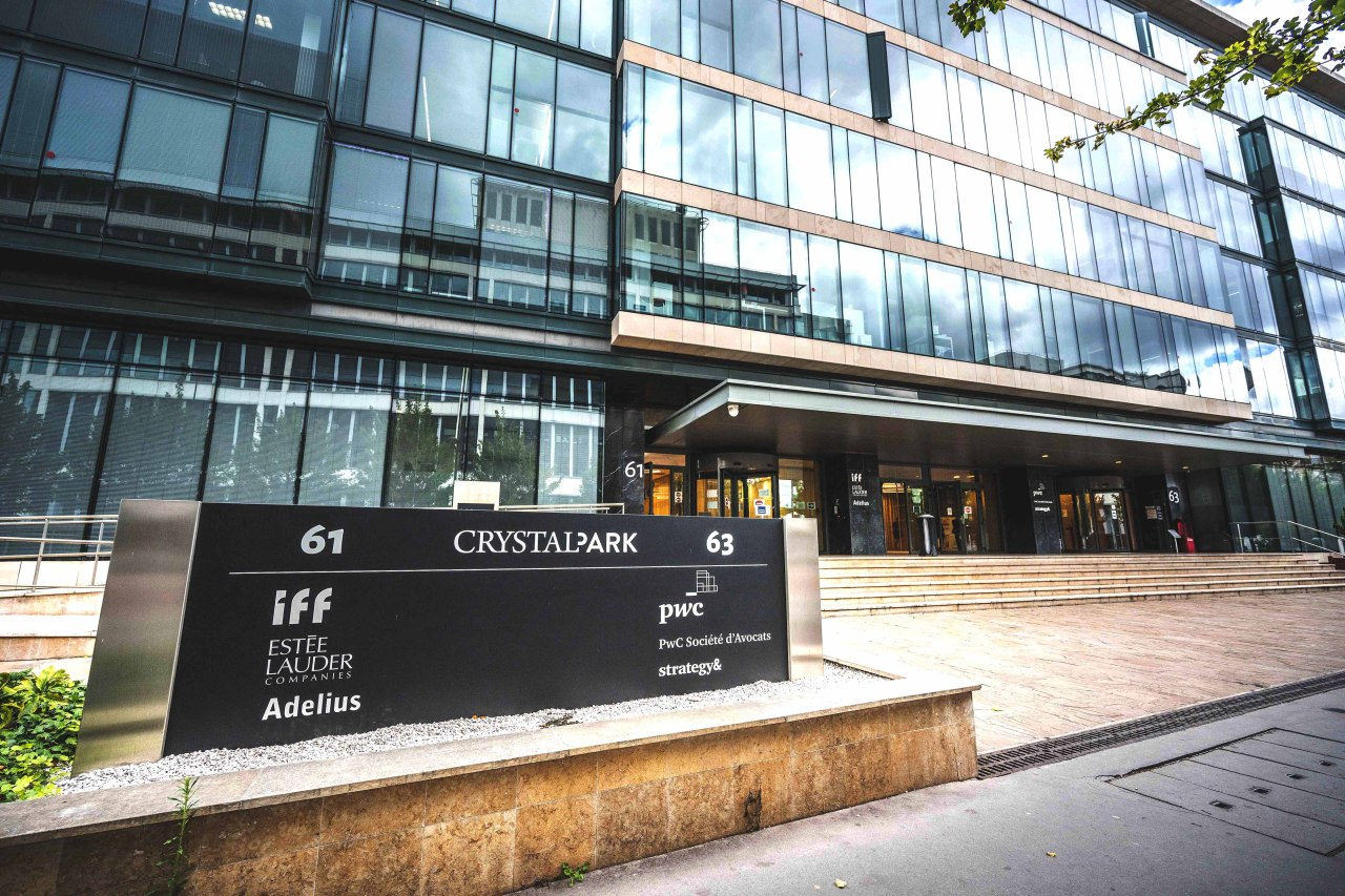 An exterior view of Crystal Park office building (Mastern Investment Management)