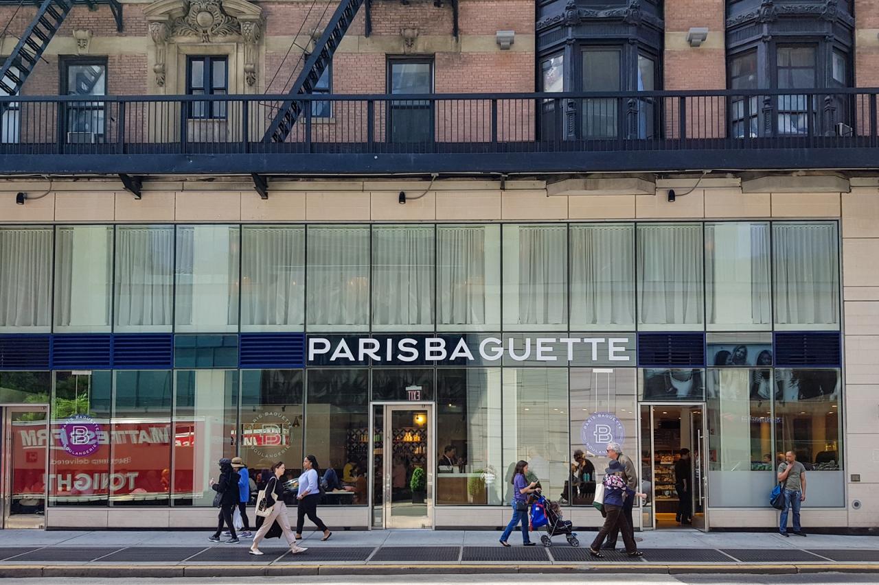 A Paris Baguette store on Lexington Avenue in New York City (SPC Group)