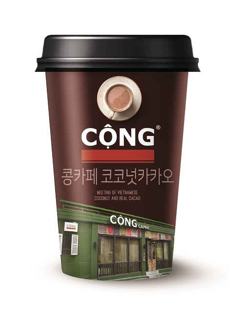 Dongwon F&B's Cong Caphe Coconut Cacao (Dongwon F&B)