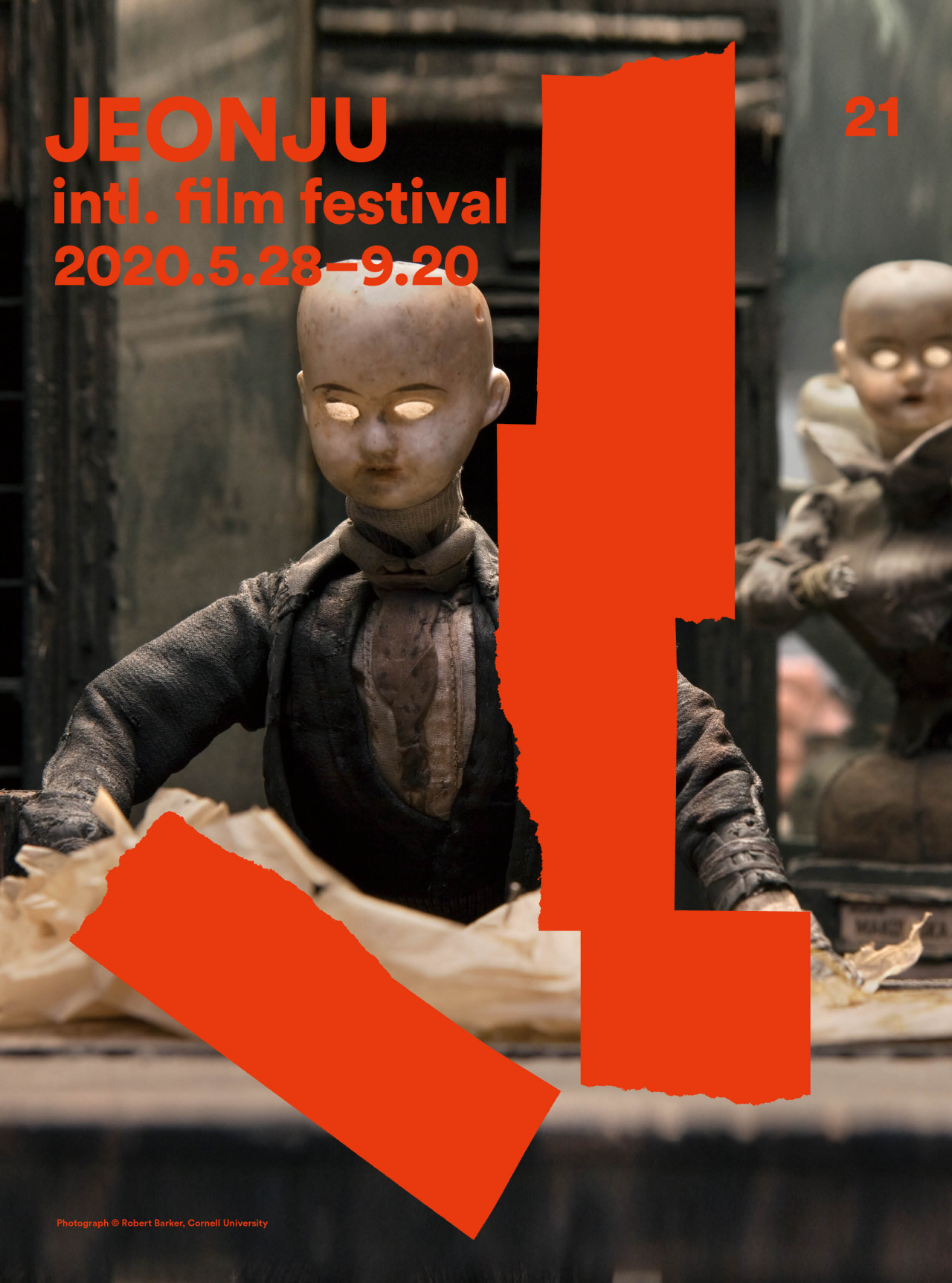 Poster for the 21nd Jeonju International Film Festival (Jeonju IFF)