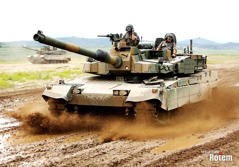 Hyundai Rotem's K2 tank (Hyundai Rotem)