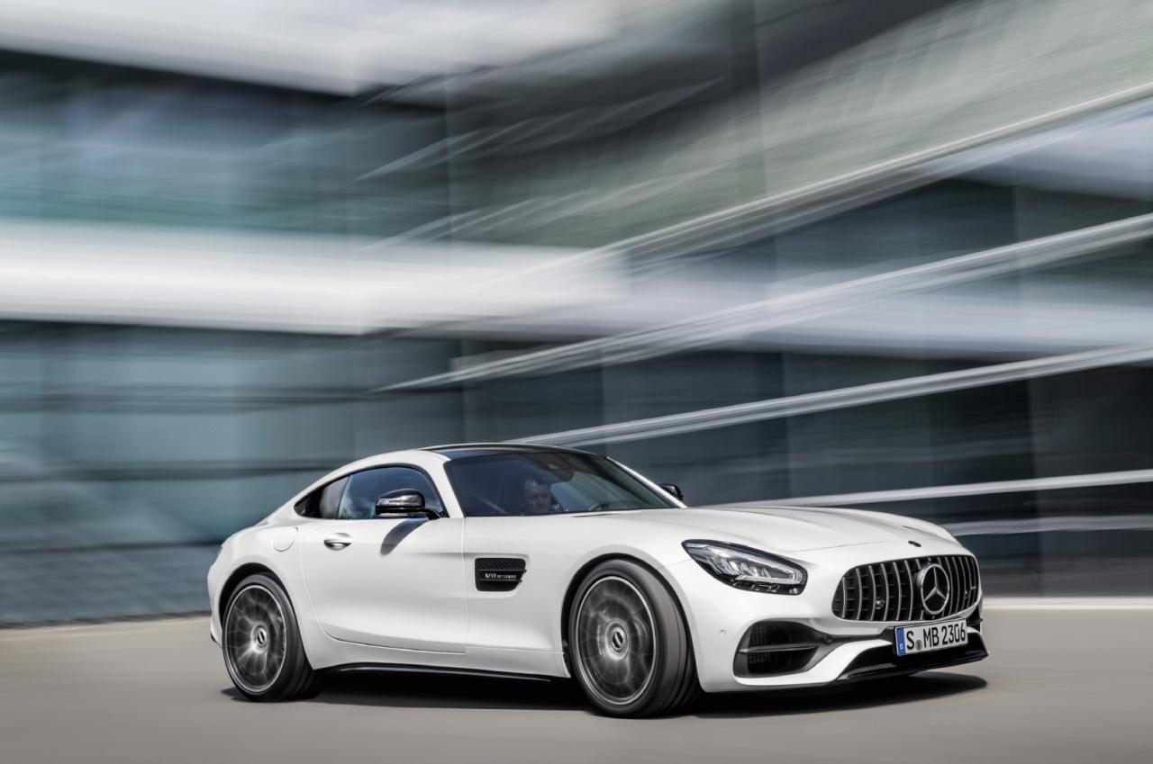 The new Mercedes-AMG GT (Mercedes-Benz Korea)