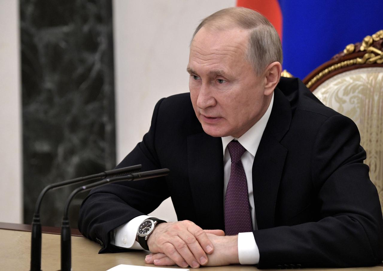 Russian President Vladimir Putin (AP-Yonhap)