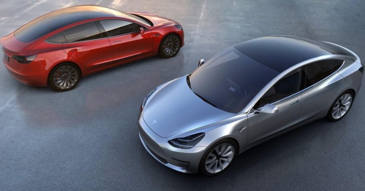 Tesla Model 3 (Naver auto page)
