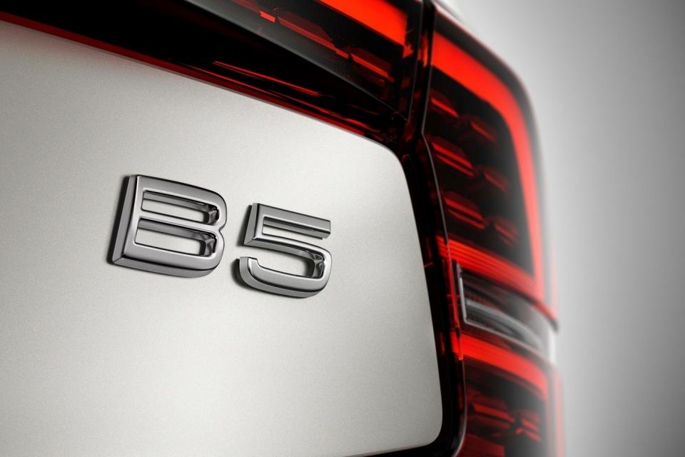 The emblem of Volvo's new 'B5' standard powertrain (Volvo Cars Korea)