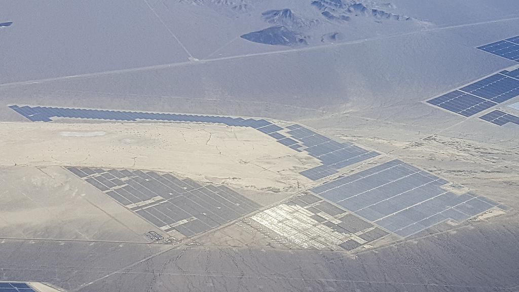 The third-phase development site of Boulder Solar Power Plant project (Korea Midland Power)
