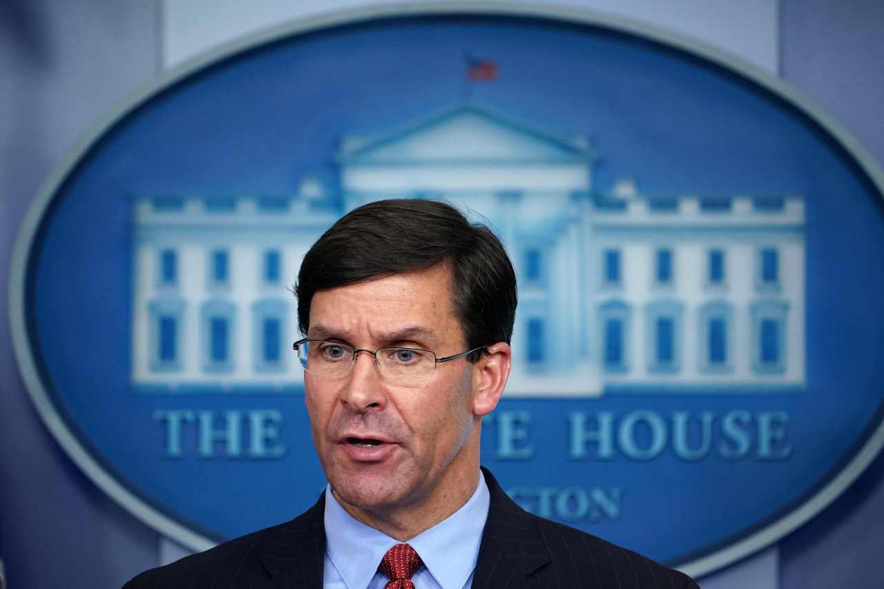 US Defense Secretary Mark Esper (AFP-Yonhap)