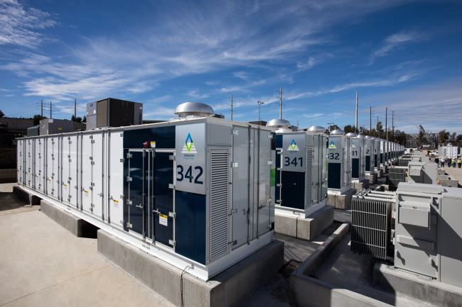 Energy storage systems co-built by Samsung SDI in California, US (Samsung SDI)