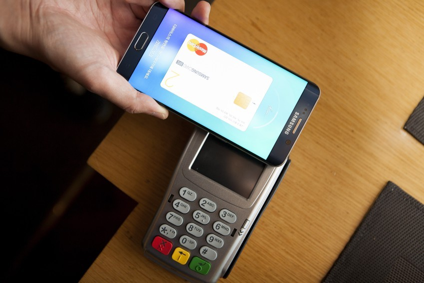 Tech giant Samsung Electronics' mobile payment system Samsung Pay. (Samsung Electronics)