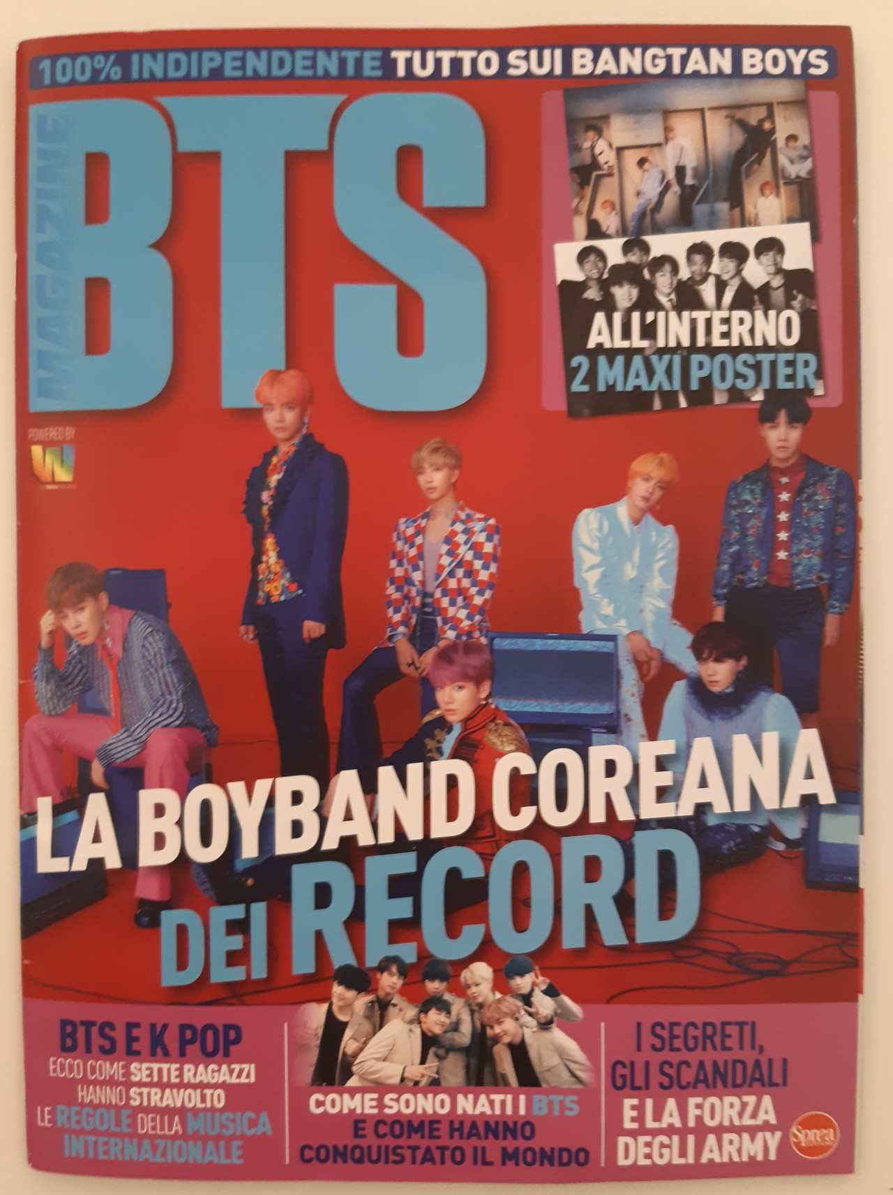June launch issue of BTS (Yonhap)