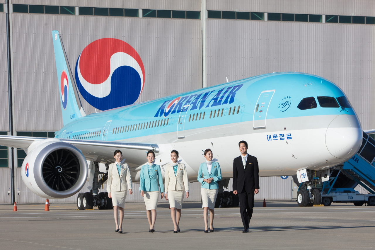 Korean Air's Boeing 787-9 aircraft (Korean Air)