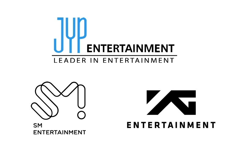 (S.M. Entertainment, YG Entertainment and JYP Entertainment)