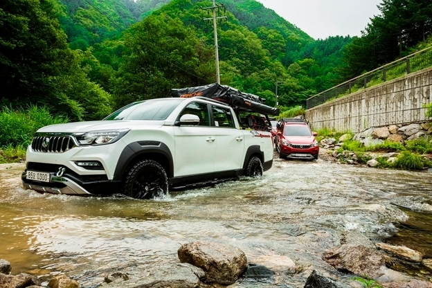 SsangYong Motor's Rexton Sports Dynamic Edition (SsangYong Motor)