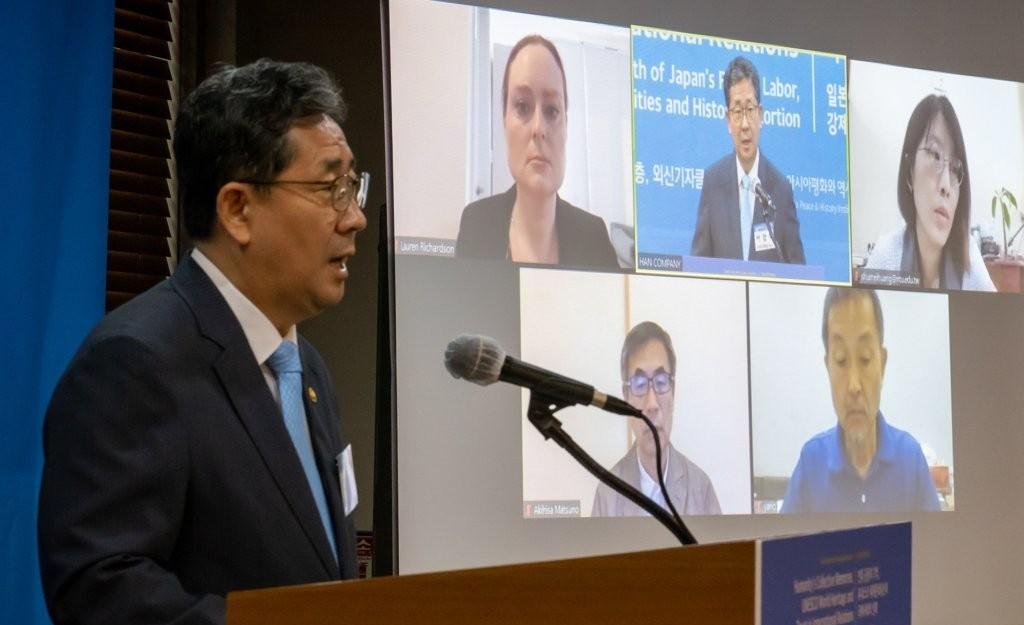 Park Yang-woo, South Korea's culture minister (Yonhap)