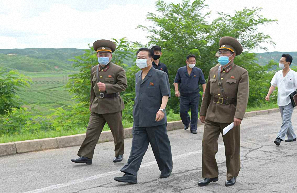 North Korea's No. 2 leader Choe Ryong-hae (Rodong Sinmun-Yonhap)