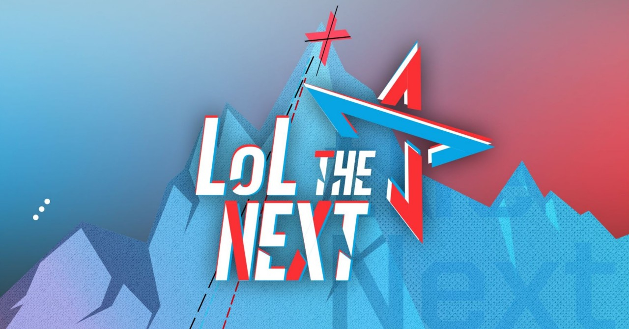 "The official logo for ""LoL the Next"" (Riot Games)"