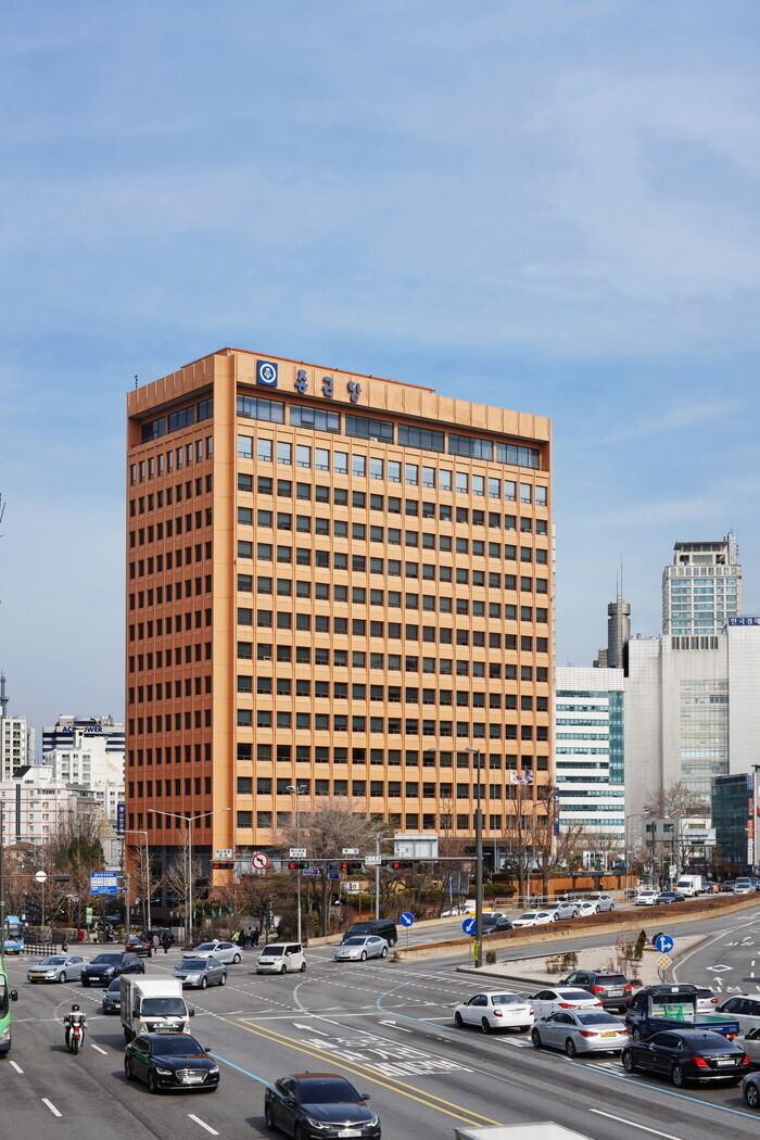 Chong Kun Dang headquarters in Chungjeongno, Seoul