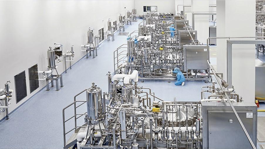 Inside Samsung Biologics' plant (Samsung Biologics)