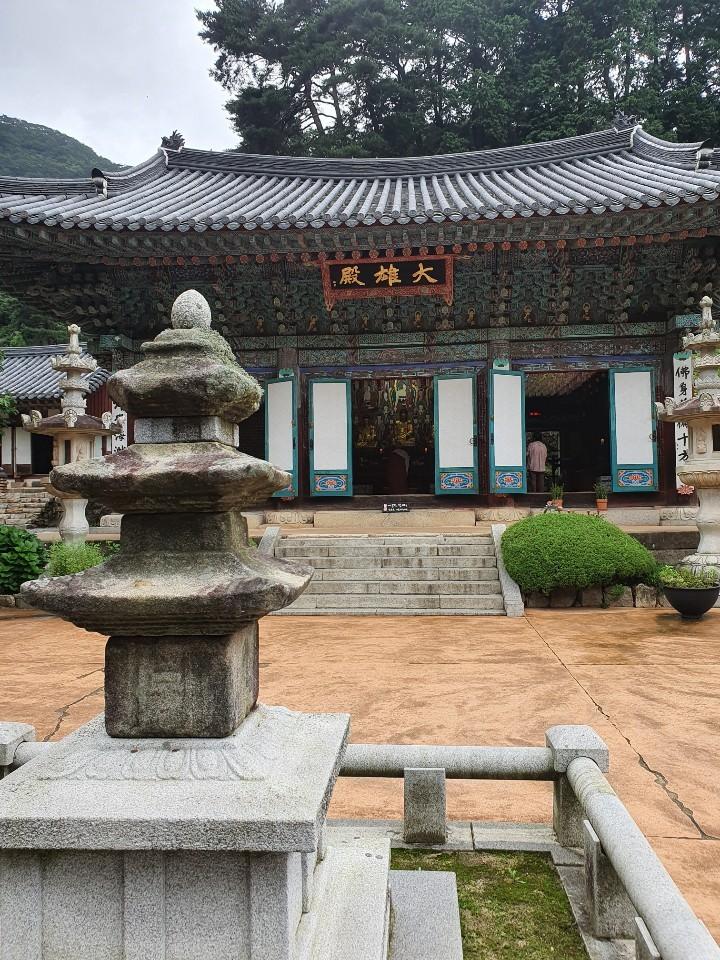 Donghaksa in Gyeryongsan (Lim Jang-won / The Korea Herald)