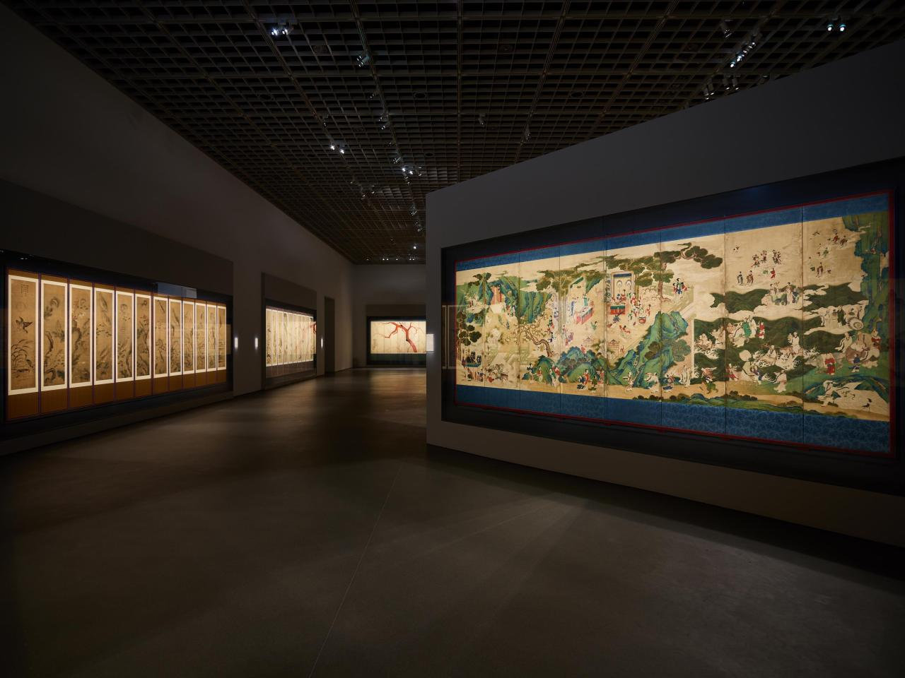 """Installation view of """"APMA, Chapter Two"""" at the Amorepacific Museum of Art (APMA)"""