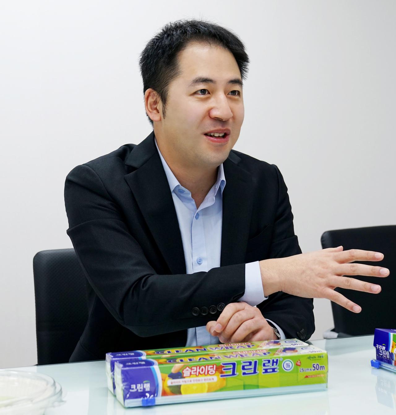 Cleanwrap CEO Seung Moon-soo (Cleanwrap)
