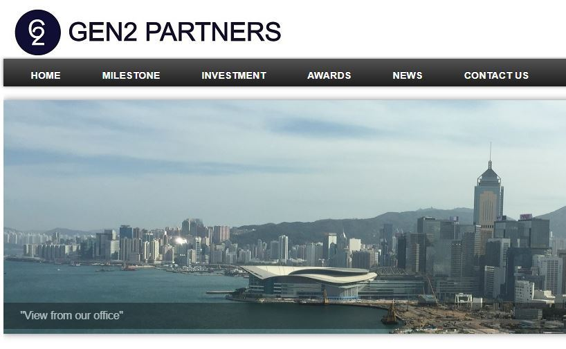 A screen grab of Gen2 Partners website