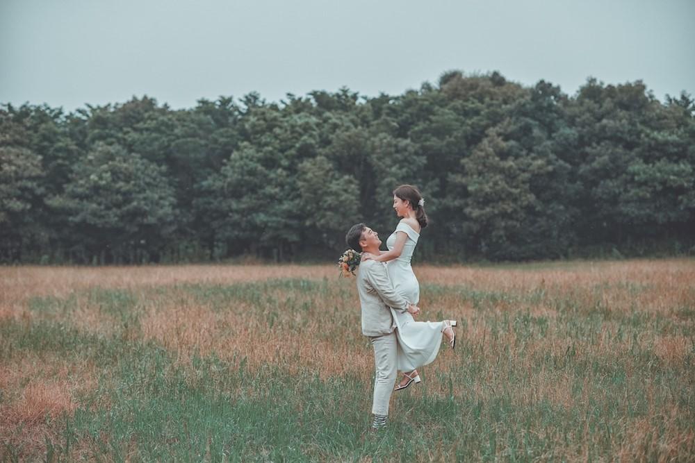 A couple on Jeju Island (Courtesy of Chung Eui-seon)