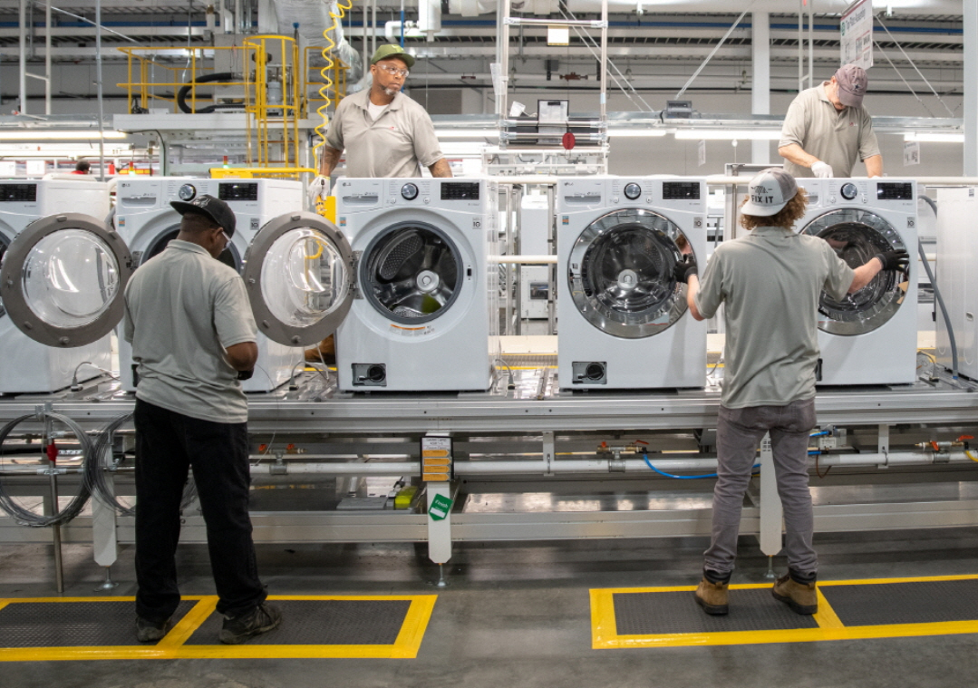 LG Electronics' new plant for washing machines in Tennessee (LG Electronics)