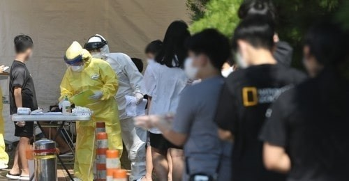S.Korea's new Covid-19 cases hit 5-month high