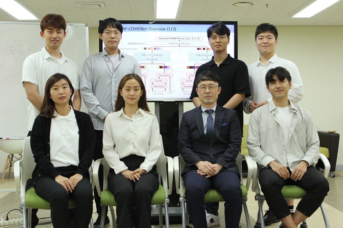 KAIST researchers behind the Hi-COVIDNet (KAIST)