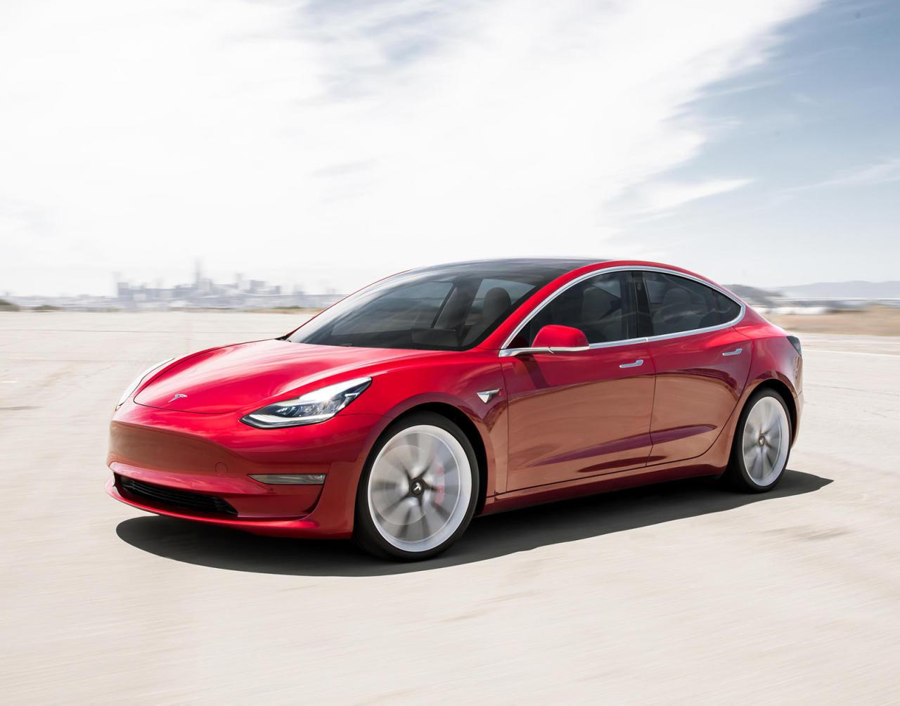 Tesla Model 3 sedan (Tesla)