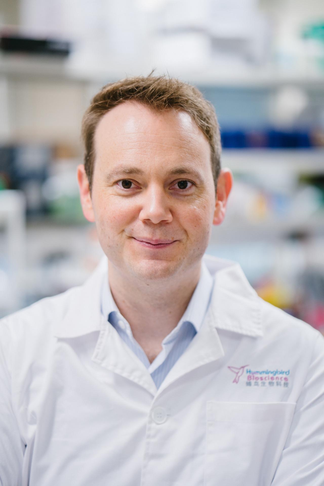 Hummingbird Bioscience CEO Piers Ingram
