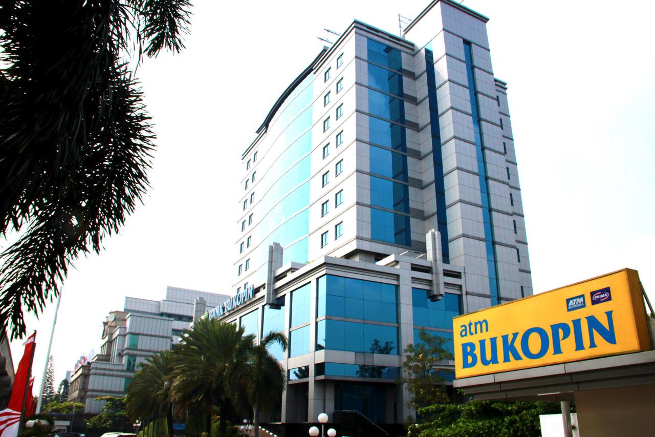 An exterior view of Bank Bukopin (KB Kookmin Bank)