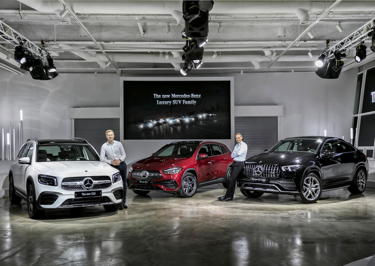 Mercedes Benz Korea Unveils 3 New Models Of Luxury Suv Family