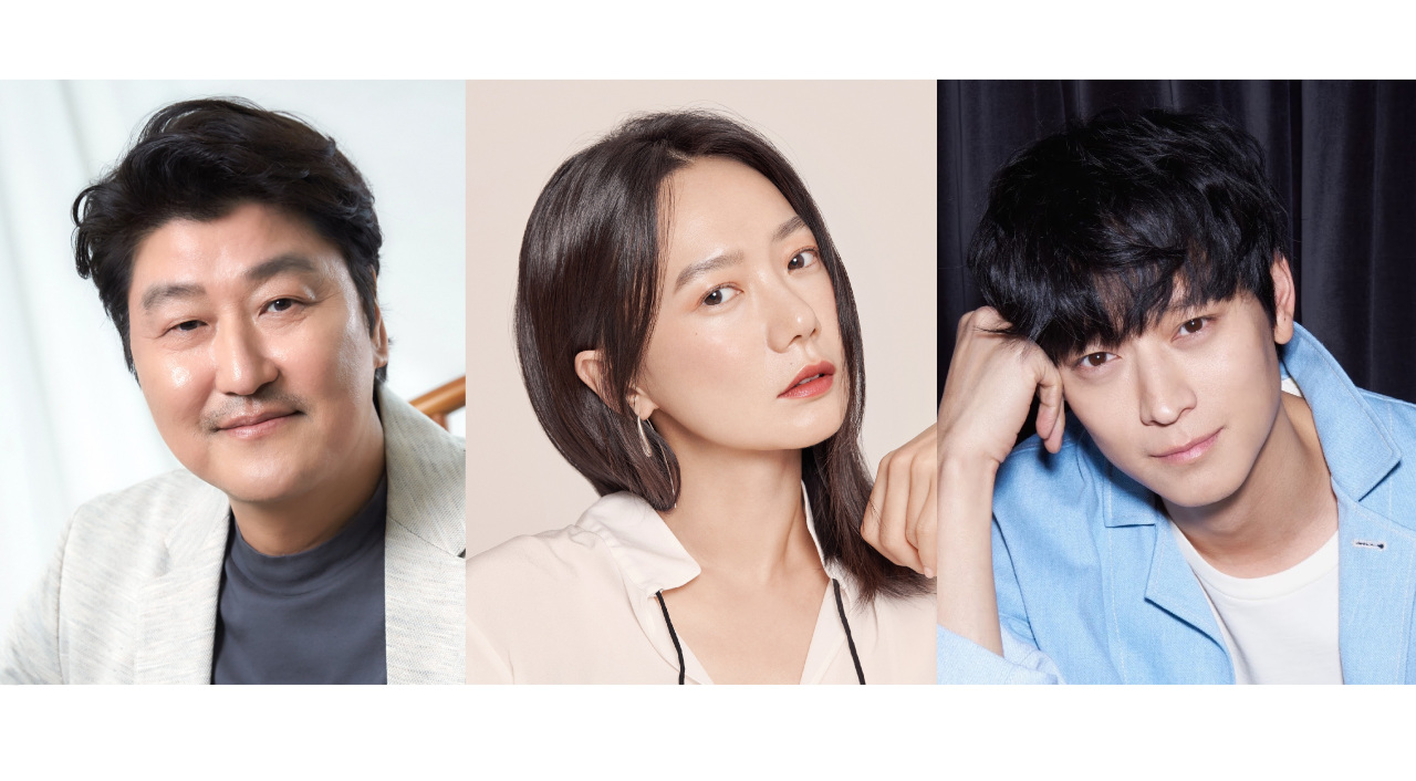 Song Kang-ho (CJ Entertainment)/ Bae Doo-na (Giorgio Armani Beauty)/ Gang Dong-won (YG Entertainment)