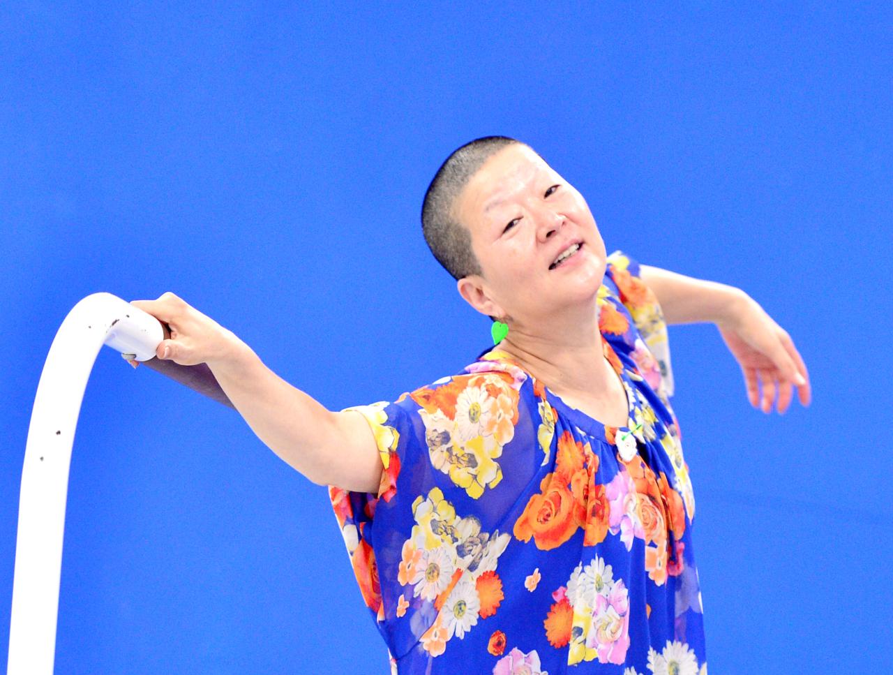 Choreographer Ahn Eun-me (Park Hyun-koo/The Korea Herald)